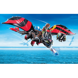 Dragon Racing: Hiccup and Toothless