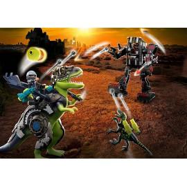 T-Rex: Milžinų mūšis