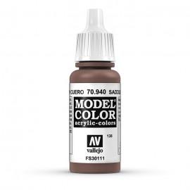 Akriliniai dažai - odinė ruda