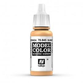 Akriliniai dažai - šviesus odos atspalvis