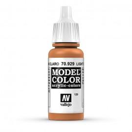 Akriliniai dažai - šviesiai ruda