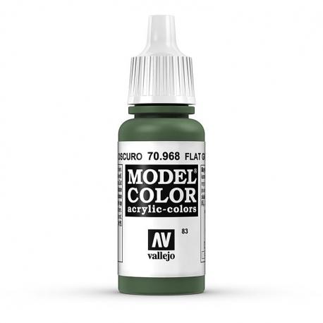 Akriliniai dažai - matinė žalia