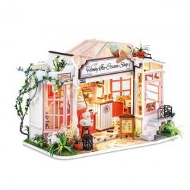 DIY Honey Ice-Cream Shop