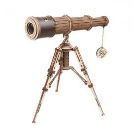 Medinė 3D teleskopo dėlionė