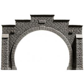 Tunelio arka dviejų bėgių keliui