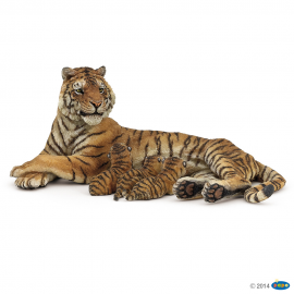 Tigrės su tigriukais figūrėlės