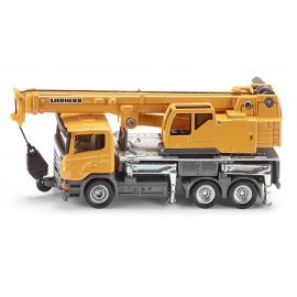 Telescopic crane truck