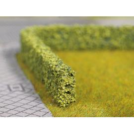Model Hedges green, 2 pieces, 1 x 0,6 cm, each 50 cm long
