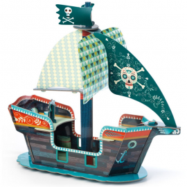 3D piratų laivas