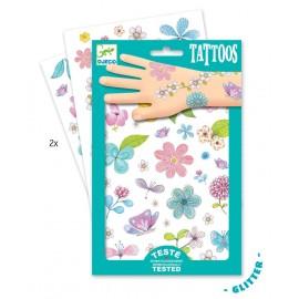 """Tatuiruočių rinkinys """"Pievų gėlės"""""""