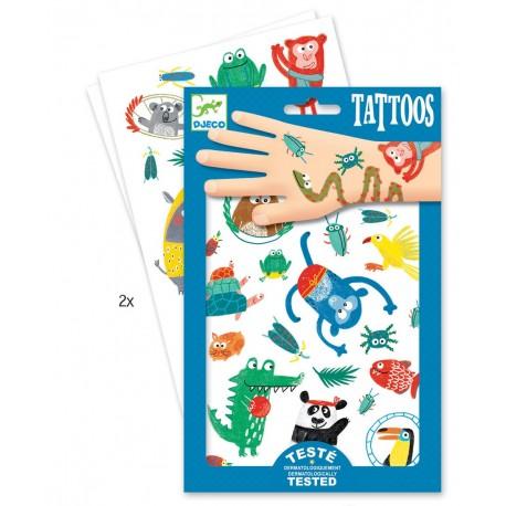 """Tatuiruočių rinkinys """"Keistuoliai"""""""
