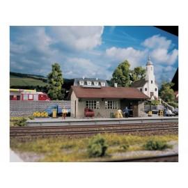 """Geležinkelio prekių stotis """"Burgstein"""""""