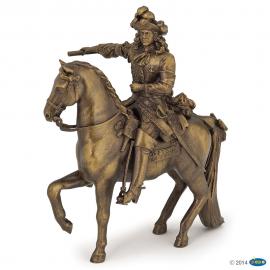 Liudviko XIV ant žirgo figūrėlė