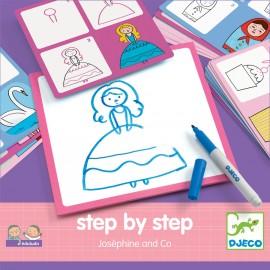 """Mokomės piešti """"Josephine"""""""