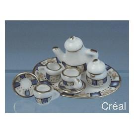 Porcelianinių indų komplektas