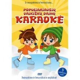DVD Populiariausių vaikiškų dainų karaokė