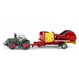 Traktorius su bulviakase