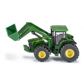 Traktorius John Deere 8430 su frontaliniu krautuvu