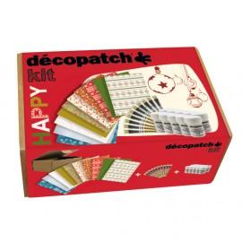 Kalėdinis Decopatch rinkinys kūrybinėms dirbtuvėms