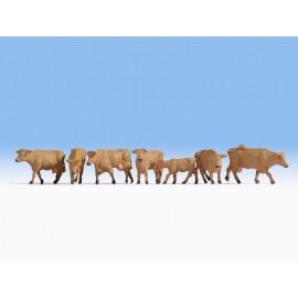 Rudos karvės