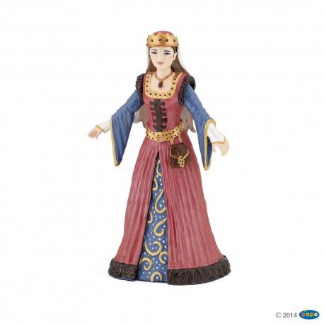 Viduramžių karalienės figūrėlė