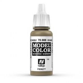Akriliniai dažai - matinė ruda
