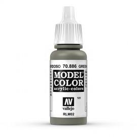 Akriliniai dažai - žalsvai pilka
