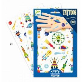 """Tatuiruočių rinkinys """"Erdvė"""""""