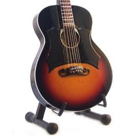 Mini Guitar Replica - Johny Cash